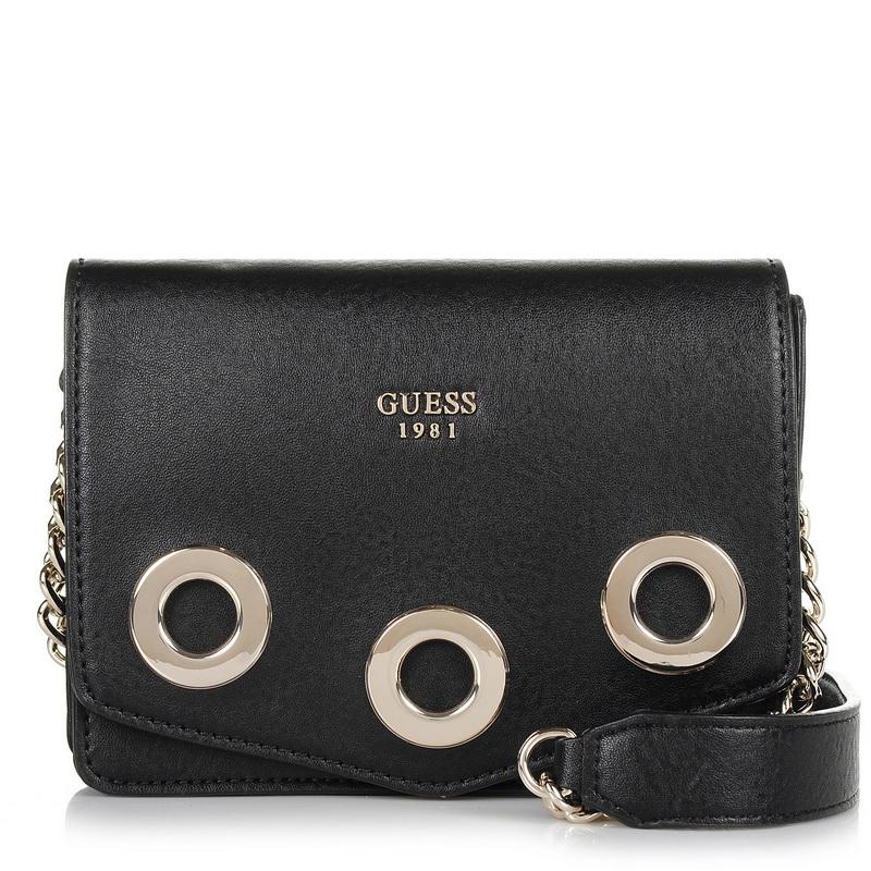Τσαντάκι Ώμου - Χιαστί Guess Dinah Mini VG679178 γυναικα   γυναικεία τσάντα