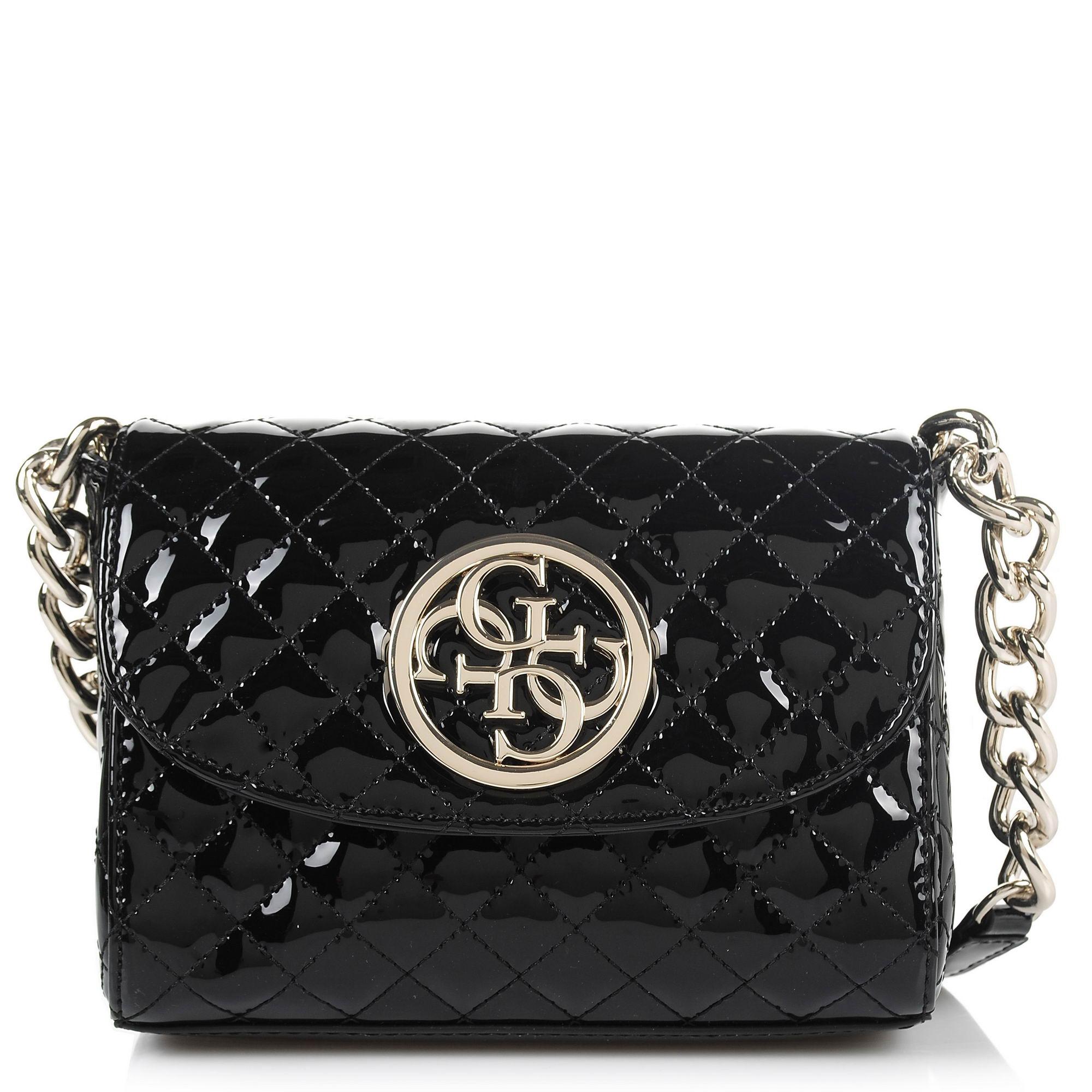 Τσαντάκι Ώμου - Χιαστί Guess Glux Mini PG662378 γυναικα   γυναικεία τσάντα