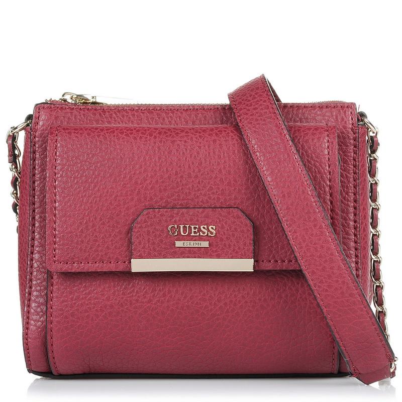 Τσαντάκι Ώμου - Χιαστί Guess Ryann Mini PB668370 γυναικα   γυναικεία τσάντα