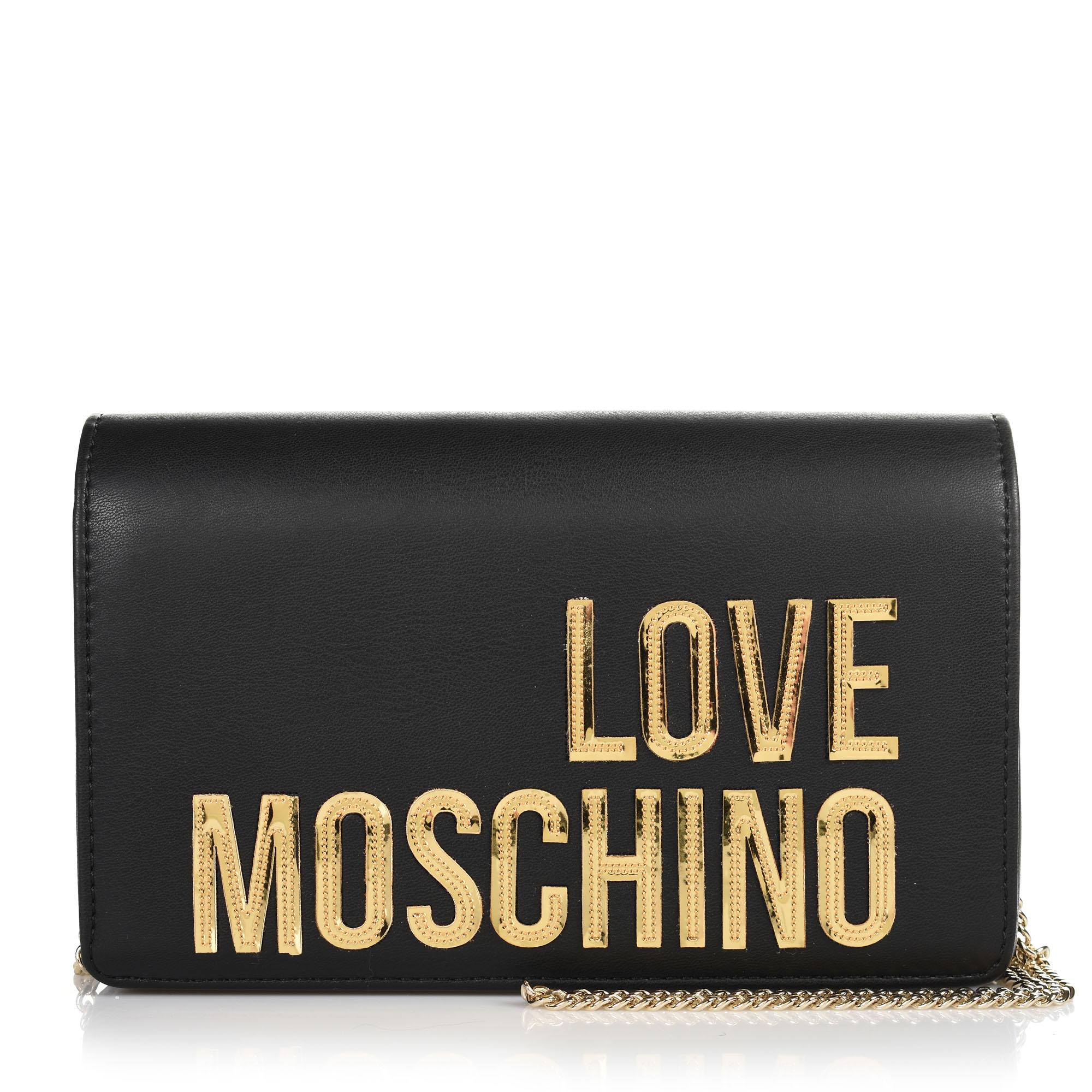 Τσαντάκι Ώμου-Χιαστί Love Moschino Borsa Matt Nappa JC4296PP07KN