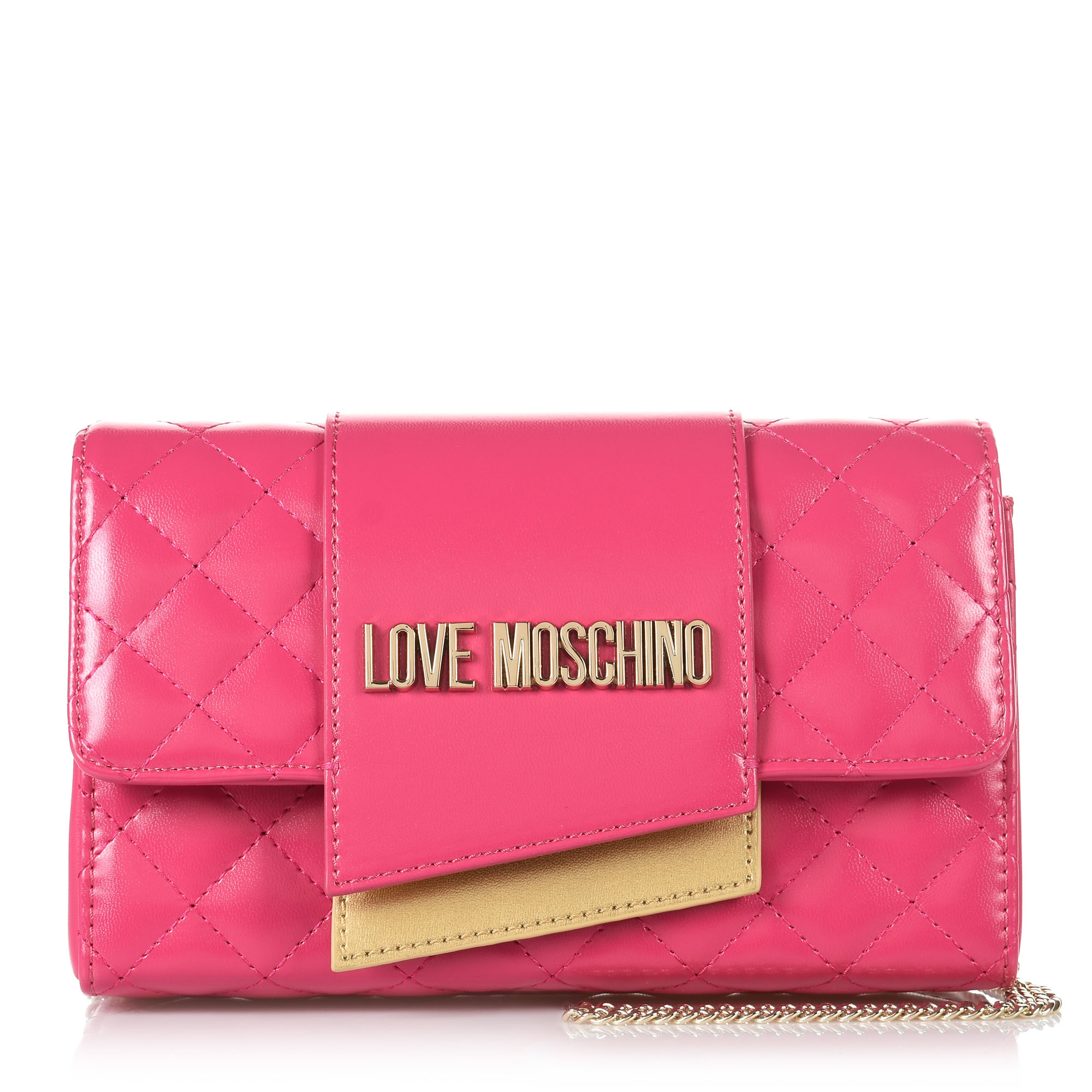 8b3a723355 Brand Bags Τσαντάκι Ώμου-Χιαστί Love Moschino Borsa Quilted Nappa  JC4295PP07KA