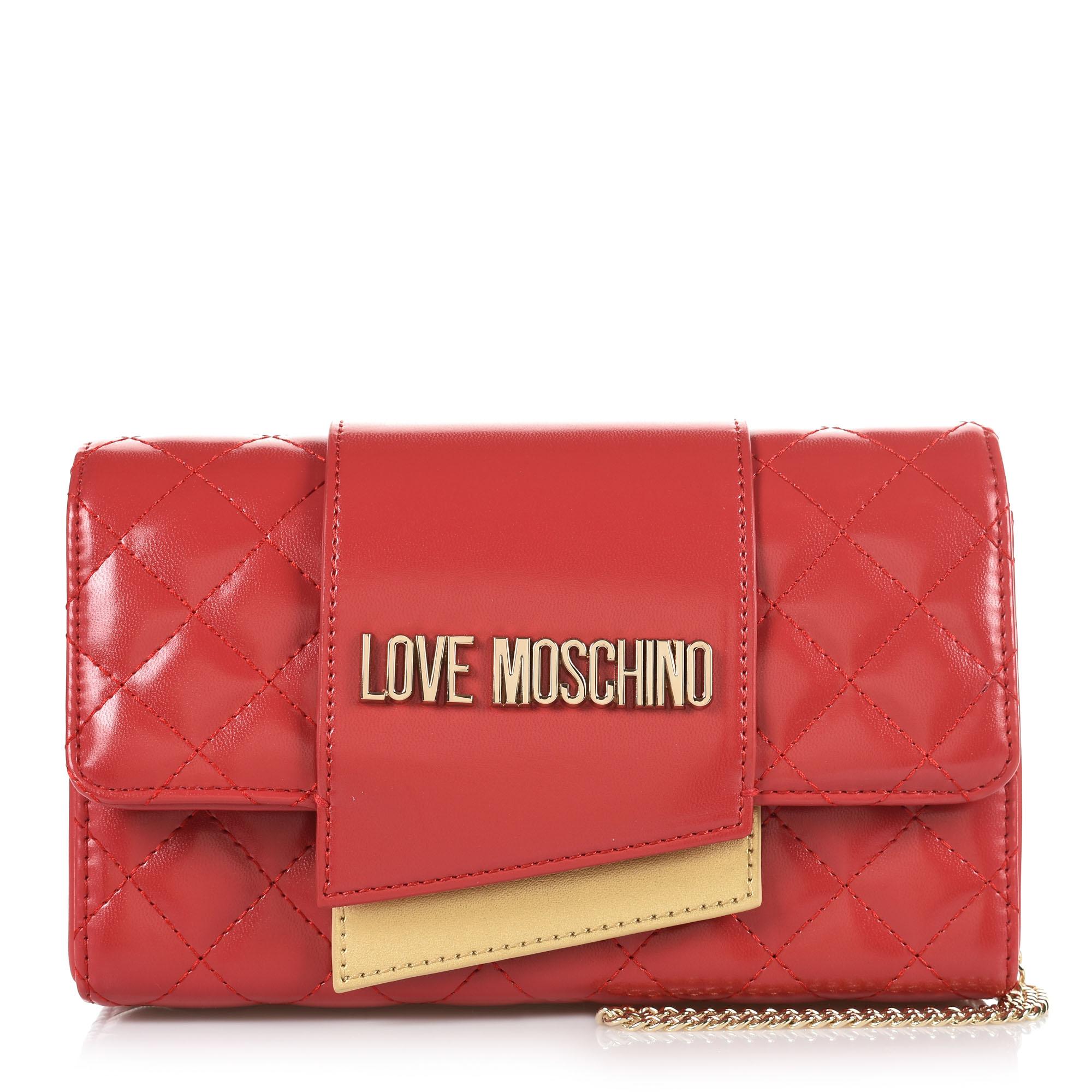 b2dea77adb Τσαντάκι Ώμου-Χιαστί Love Moschino Borsa Quilted Nappa JC4295PP07KA