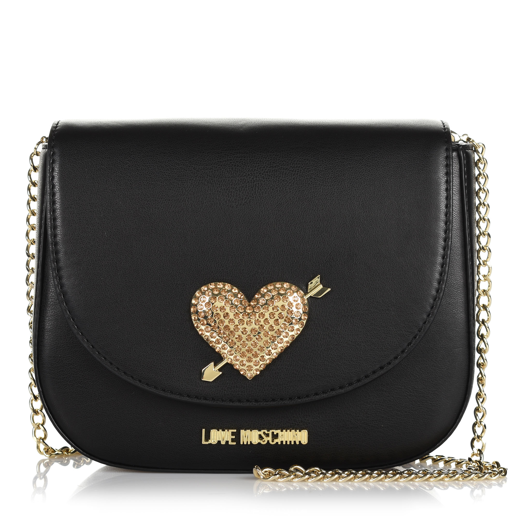 a5696e336f Τσαντάκι Ώμου-Χιαστί Love Moschino JC4150PP17LY