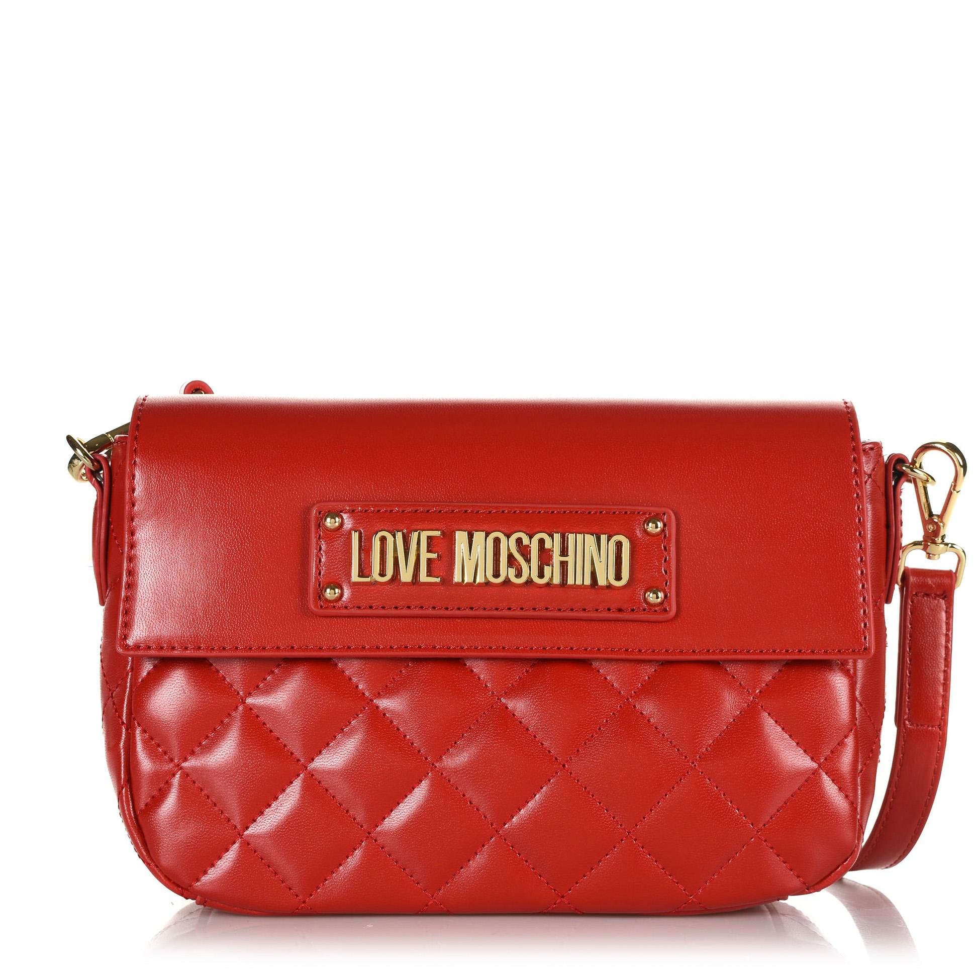 Τσαντάκι Ώμου-Χιαστί Love Moschino JC4200PP08KA