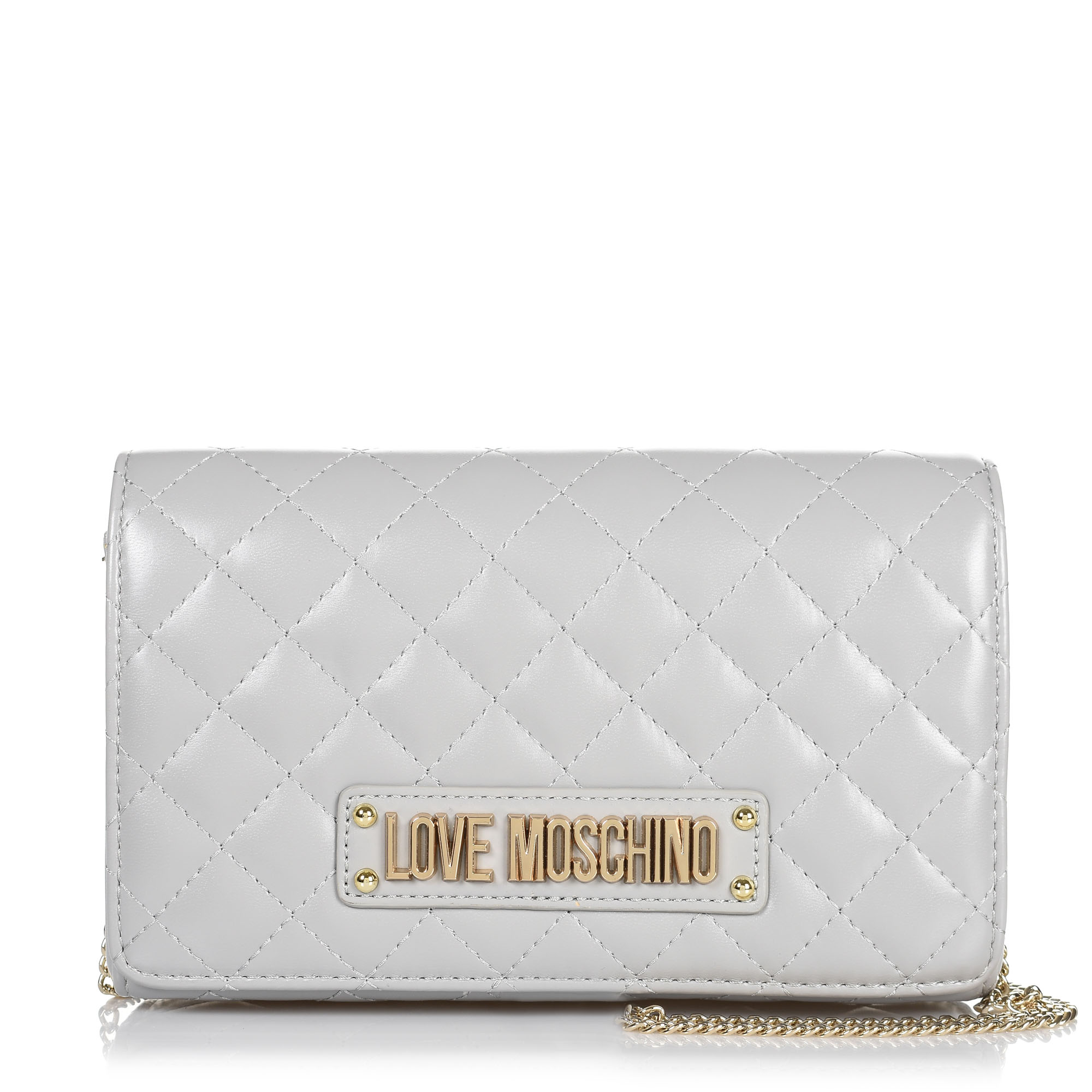 5b8c4b59ab Brand Bags Τσαντάκι Ώμου-Χιαστί Love Moschino Quilted Nappa JC4118PP17L