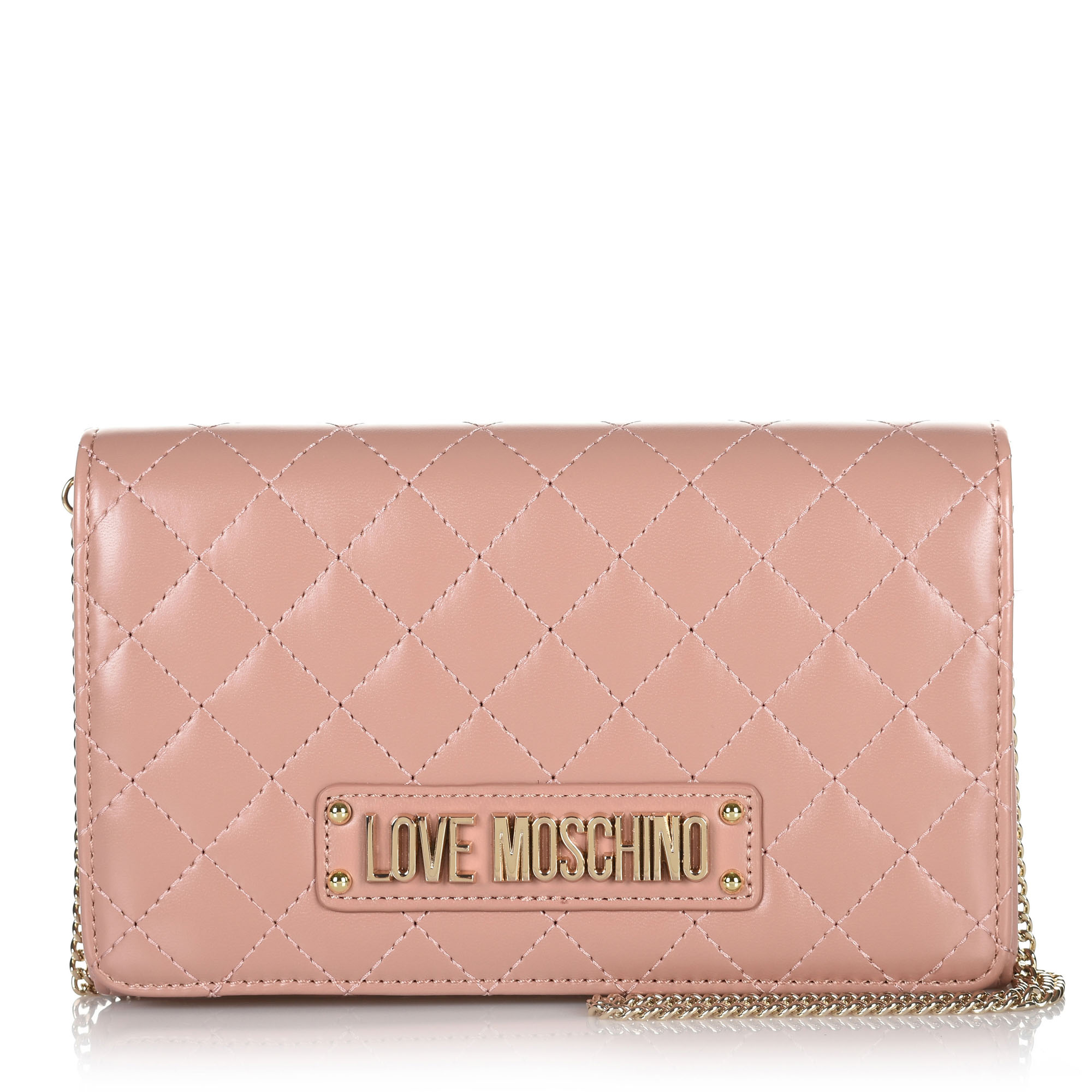 4cff473f1a Brand Bags Τσαντάκι Ώμου-Χιαστί Love Moschino Quilted Nappa JC4118PP17L