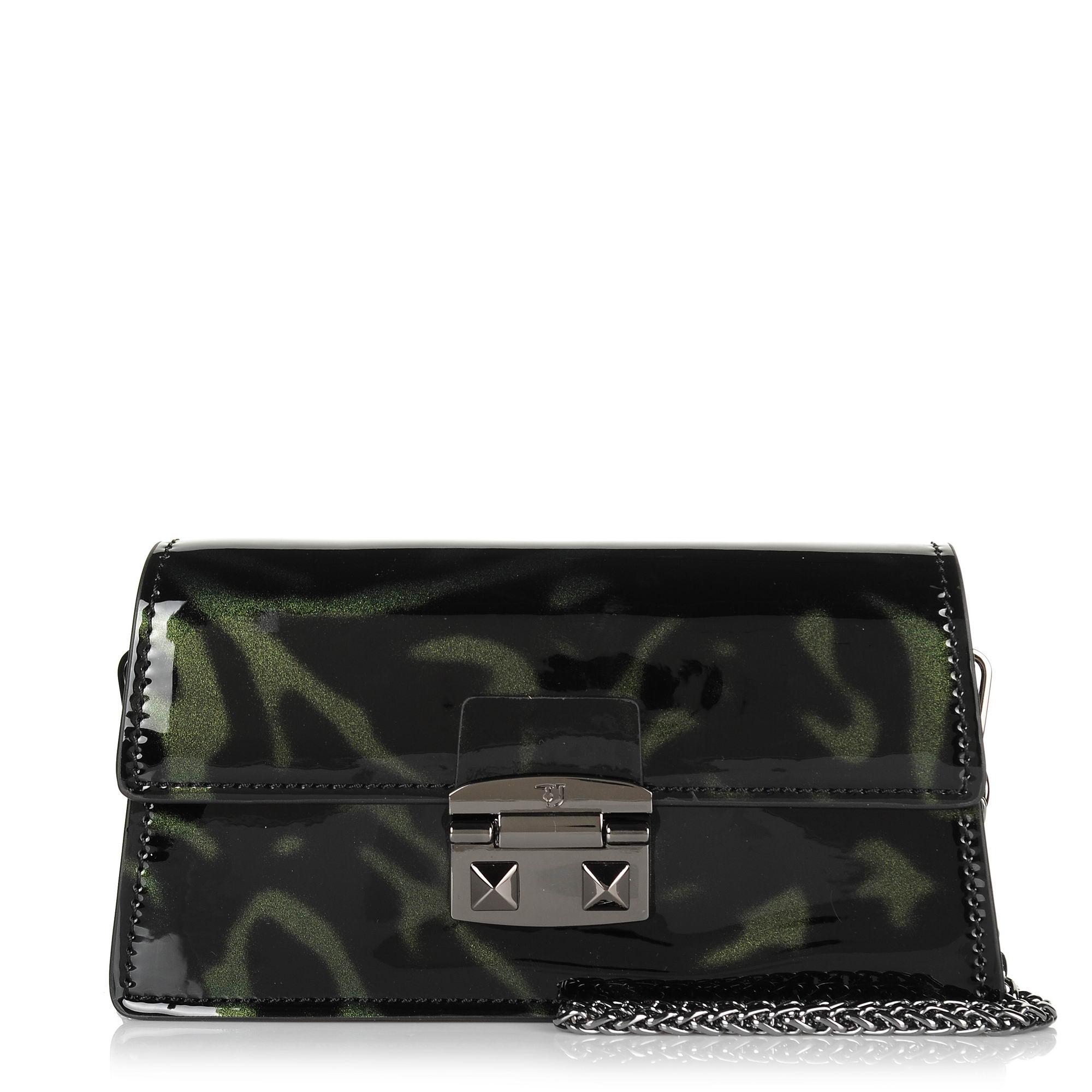 Τσαντάκι Ώμου-Χιαστί Trussardi Jeans Coriandolo Mini Bag Patent 75B00554