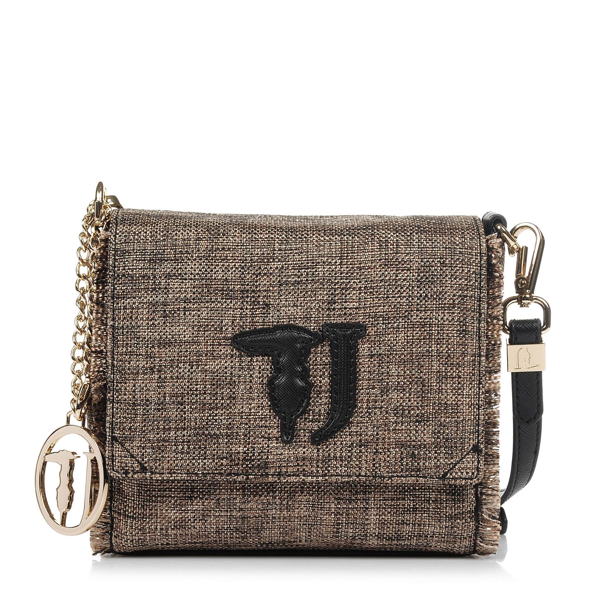 Τσαντάκι Ώμου – Χιαστί Trussardi Jeans Ischia Textil Crossbody Bag 75B00207