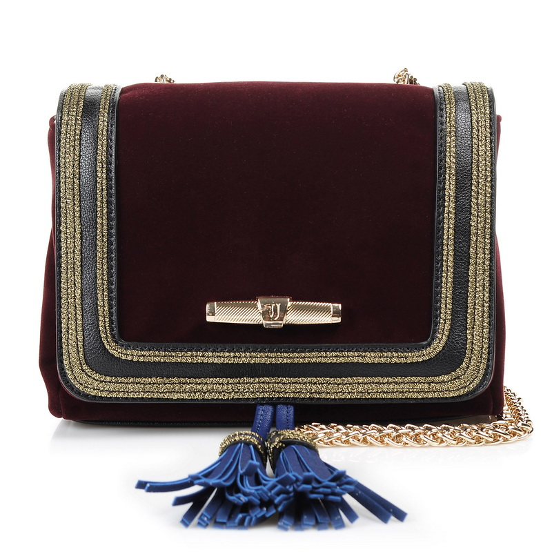Τσαντάκι Ώμου - Χιαστί Trussardi Jeans Judy Velvet Mini Bag 75B110 γυναικα   γυναικεία τσάντα