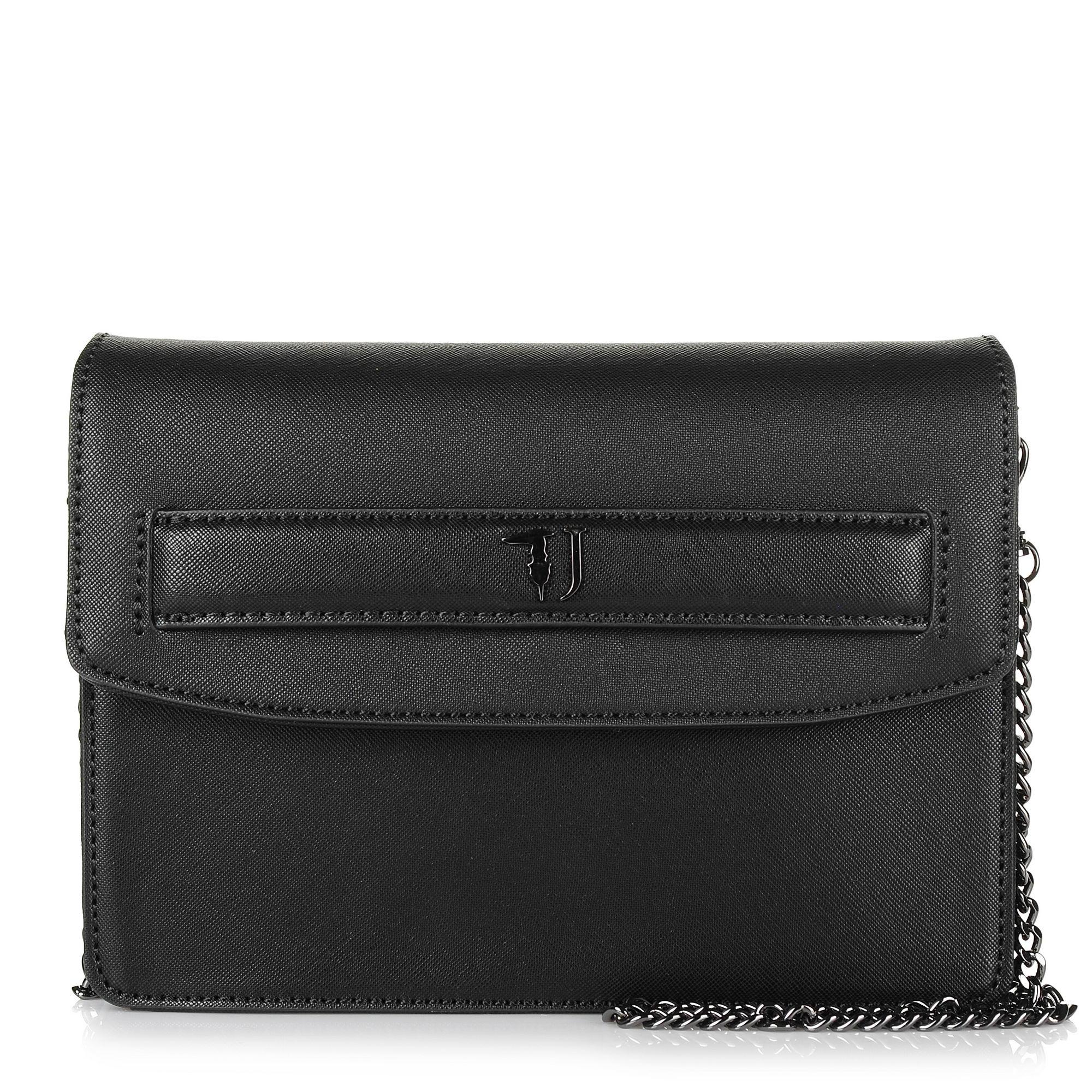 Τσαντάκι Ώμου-Χιαστί Trussardi Jeans Paprica Shoulder Bag Ecoleather 75B00536